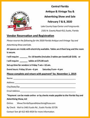 Vendor Reservation and Registration